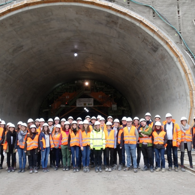 Tunnel Cannstatt S21: Gruppenbild
