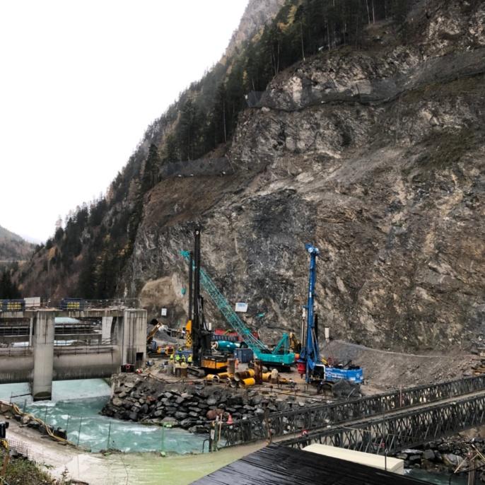 Innsbruck: Gemeinschaftskraftwerk Inn